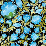 Abstract vintage seamless floral ornament Royalty Free Stock Photography