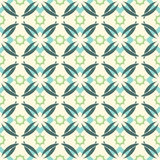 Abstract vintage seamless pattern. Royalty Free Stock Photos