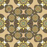 Abstract vintage seamless pattern for background Stock Photos