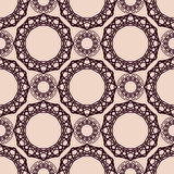 Abstract vintage spirograph pattern Royalty Free Stock Images