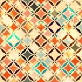 Abstract vintage star seamless. (EPS 10 transparency royalty free illustration