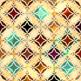 Abstract vintage star seamless Royalty Free Stock Photography