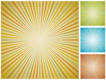 Abstract vintage starburst background. Royalty Free Stock Photography