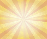 Abstract vintage textured background with ray beams. Abstract retro background. Sun Beams with Orange Yellow Blurred. The frame in retro stile stock illustration