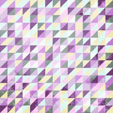 Abstract Vintage  triangles background Stock Photos
