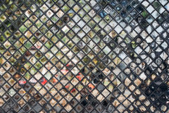 Abstract vintage wall background from mirror. Glass texture royalty free stock photography