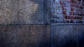 Abstract vintage wall in urban scene royalty free stock photography