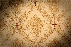 Abstract vintage wallpaper background. Abstract retro-styled vintage wallpaper background stock photography