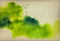 Abstract vintage watercolor background Stock Image