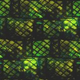 Abstract vintage yellow, black, mesh avant-garde, Royalty Free Stock Photo