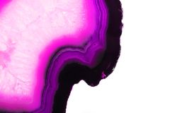 Abstract violet agate background Royalty Free Stock Photo