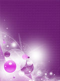 Abstract violet background stock illustration