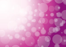 Abstract violet background with bokeh Stock Photography