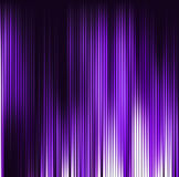 Abstract violet background. Motion purple vertical lines. Vector. Technology backdrop Stock Photography