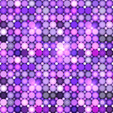 Abstract violet circles vector seamless pattern. Abstract violet circles mosaic vector seamless pattern Royalty Free Stock Photography