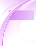 Abstract_violet_curve Royalty Free Stock Photos