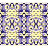 Abstract violet geometrical seamless pattern. Fancy violet abstract seamless vector geometrical pattern Royalty Free Stock Photography