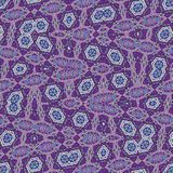 Abstract violet irregular pattern for digital wallpaper design. Blood cells in abstract image. Colorful geometric background. Ultr Vector Illustration