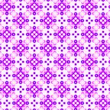 Abstract violet and pink tile pattern. Purple mosaic texture background. Seamless illustration. vector illustration
