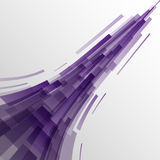 Abstract violet rectangles technology background Royalty Free Stock Photos
