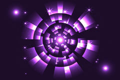 Abstract violet with space science Royalty Free Stock Image