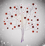Abstract violet tree. Stock Images