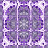 Abstract violet triangles frame mosaic pattern. Violet triangles frame mosaic pattern Royalty Free Stock Images