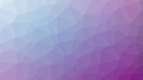 Abstract violet vector gradient lowploly of many triangles background for use in design Stock Images