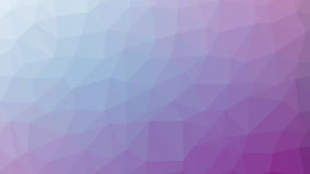 Abstract violet vector gradient lowploly of many triangles background for use in design.  Stock Images
