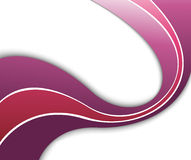 Abstract violet wave - background template Stock Photos