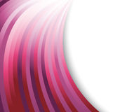 Abstract violet waves on a background Stock Images