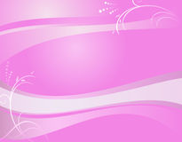 Abstract violet wavy  background - vector Stock Image