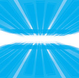 Abstract Virtural background. Abstract virtual with perspective grid vector background Royalty Free Stock Image