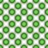 Abstract virus pattern Royalty Free Stock Photos