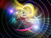 Abstract Visualization Burst Royalty Free Stock Images