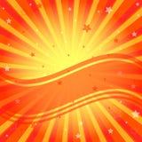 Abstract vivid orange background Stock Photography