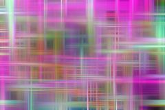 Abstract vivid purple pink colorful background, abstract forms and geometries. Abstract soft sparkling vivid lines geometries and background in pink purple stock illustration