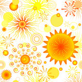 Abstract vivid seamless pattern Royalty Free Stock Images
