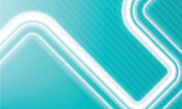 Abstract vivid waves and flows Stock Image