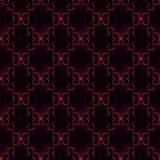 Abstract vlinder naadloos patroon Gekleurde geometrische cijfers aangaande zwarte achtergrond Royalty-vrije Stock Fotografie