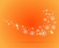 Abstract vlokkencijfer voor Kerstmis en nieuw jaar Royalty-vrije Stock Foto's