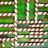 Abstract voedsellabyrint van koekjes, in de vorm van chaotically Stock Afbeelding