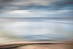 Abstract Volendam Lake. This is the lake on which the famous city Volendam lays in the Netherlands Stock Photography