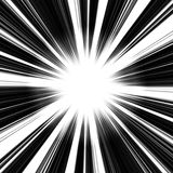 Abstract Vortex. An abstract vortex illustration - speeding toward a central point stock illustration