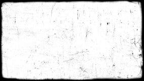 Abstract vuile of het verouderen filmkader Stock Afbeeldingen