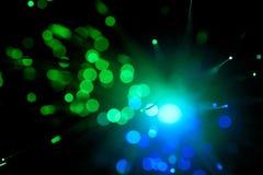 abstract włókno światłowodowe Zdjęcia Stock