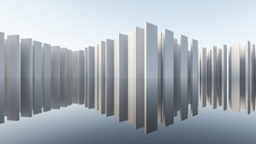 Abstract WALL Architecture Royalty Free Stock Image