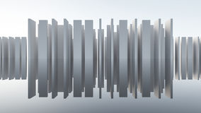 Abstract WALL Architecture Stock Photo