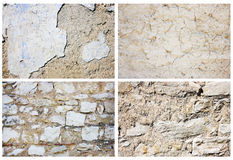 Abstract wall background set Royalty Free Stock Photo