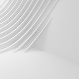 Abstract Wall Background. White Interior Design Royalty Free Stock Images